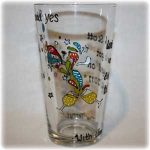 hand painted personalised glassware