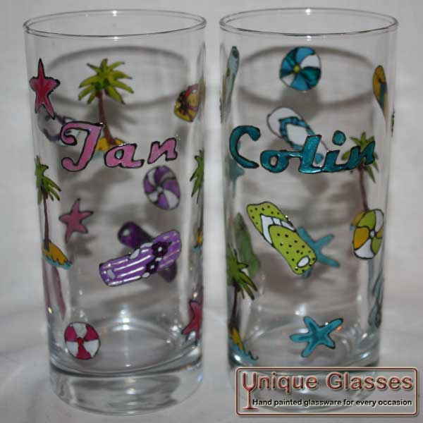 Personalised bespoke Hi-Ball Glass