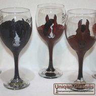 Personalised horse glass