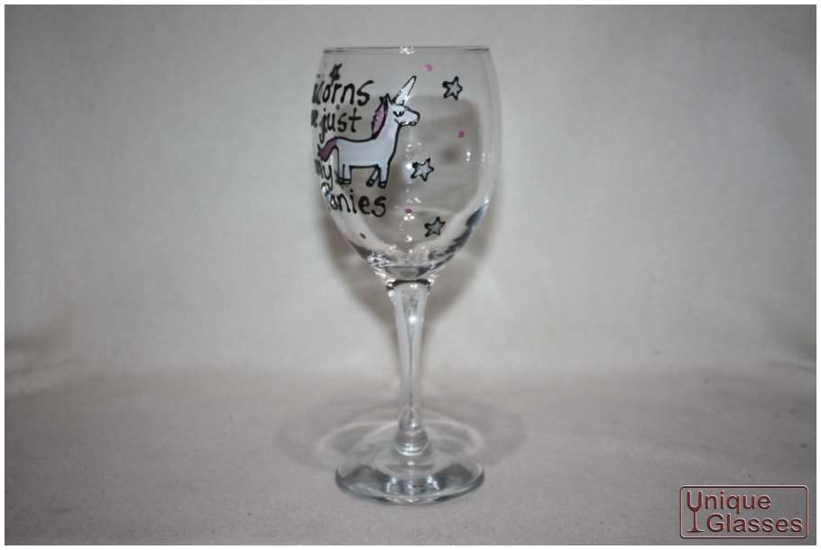 Personalised Birthday Balloon Wine Glass By Unique Glasses