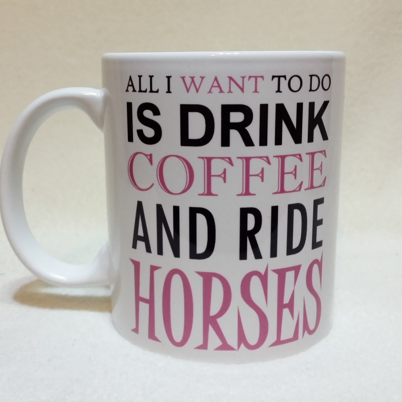 Drink and ride horses