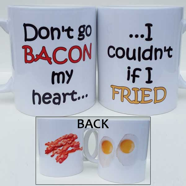 Fried Egg Bacon Mug