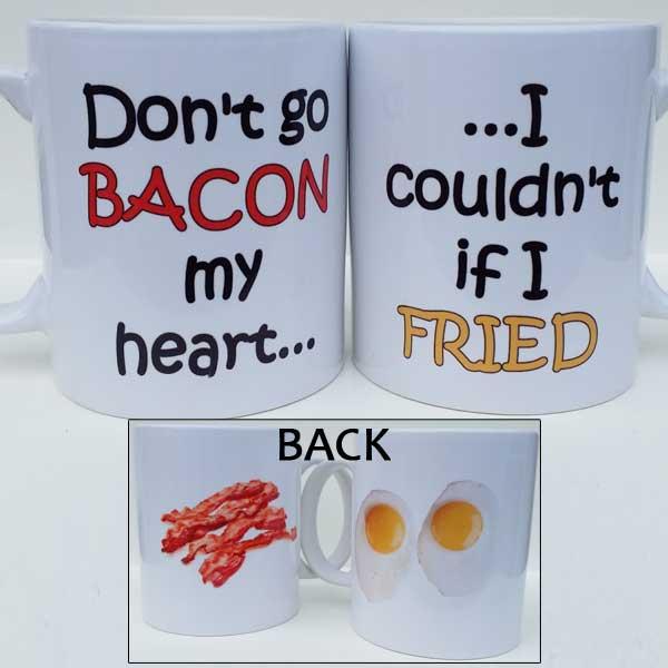 Fried Egg Bacon Mug