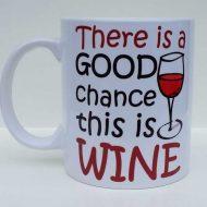 Good Chance of wine mug