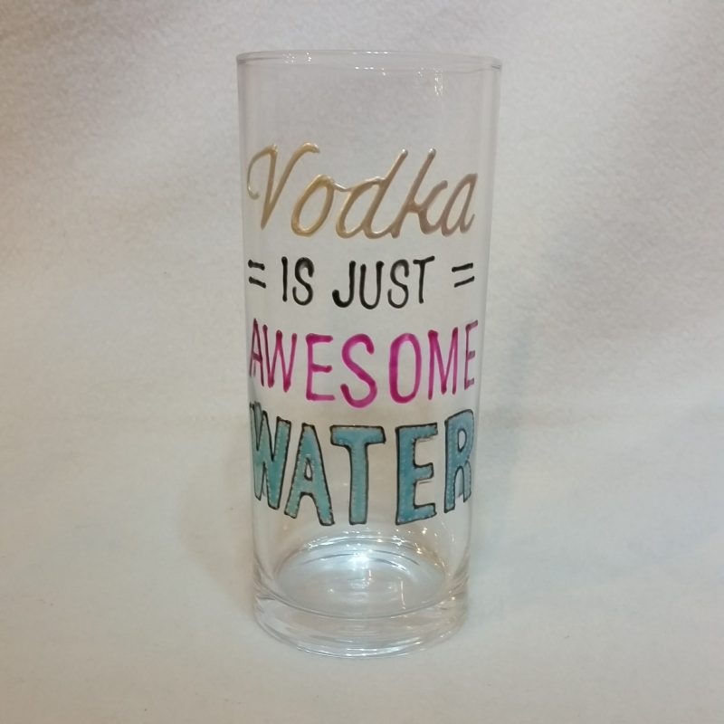 Vodka is awesome water